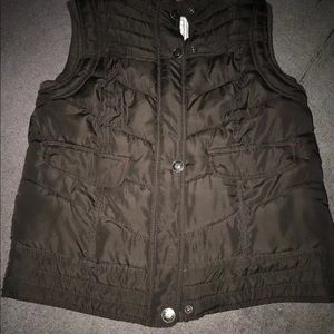 Women's/Juniors Brown Vest by Mossimo-size L-